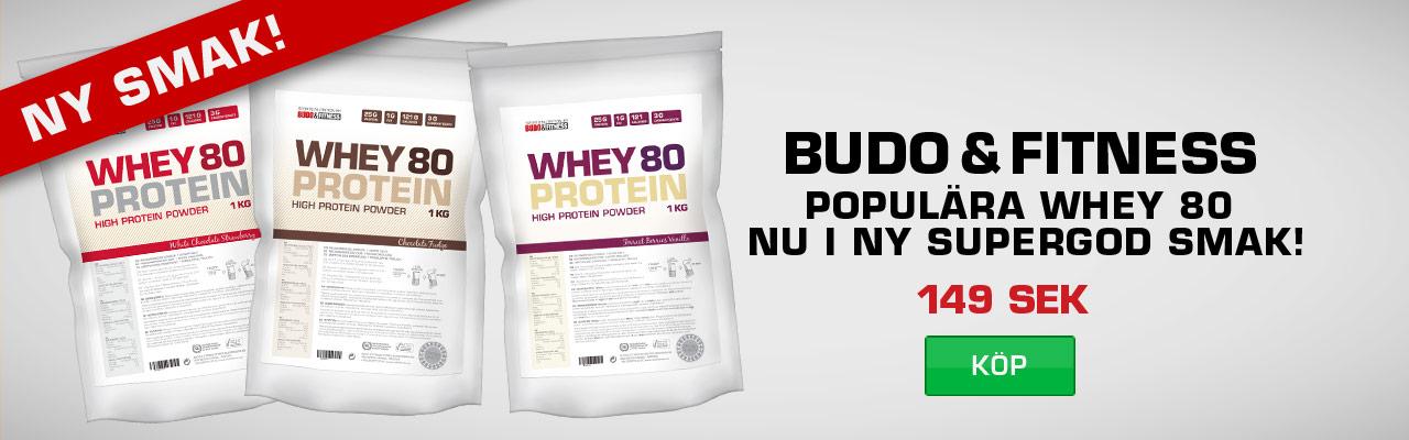 Budo & Fitness Whey 80
