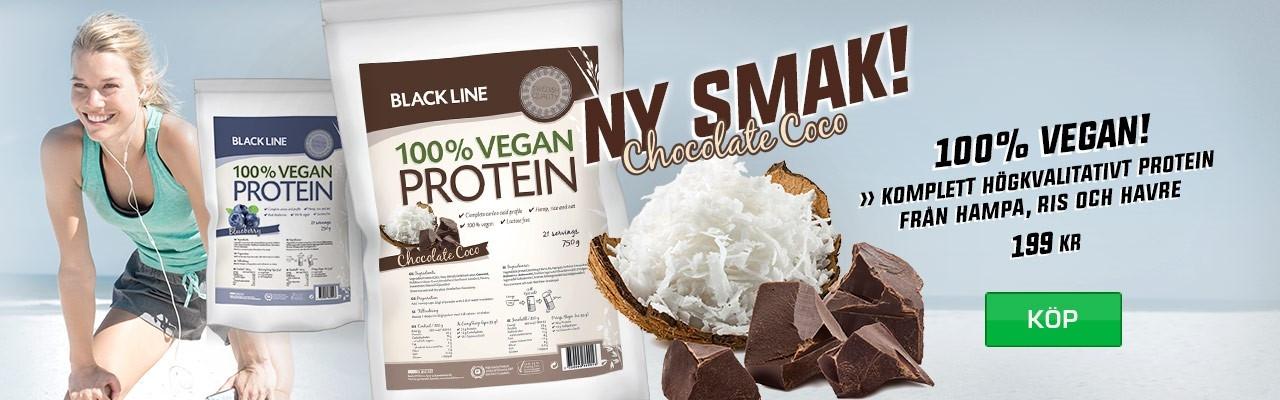 Budo & Fitness Black Line 100% Vegan Protein