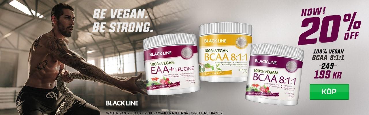 Black Line Vegan 100%